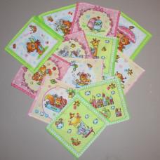 Носовой платок (детский) Т12 (5.5 руб. за штуку)